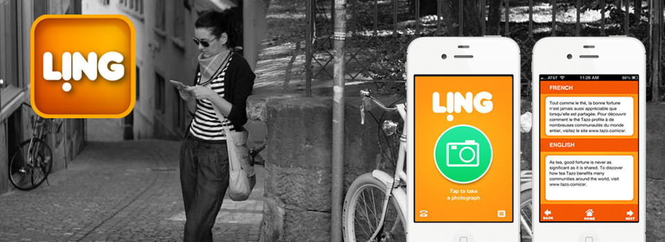 Ling alllows your iPhone to translate the image captured by its camera into 32 languages