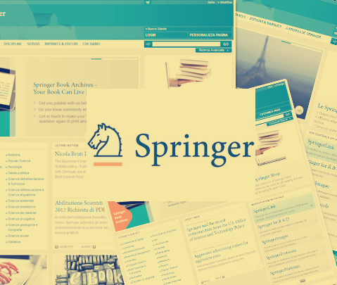 Springer Global Website